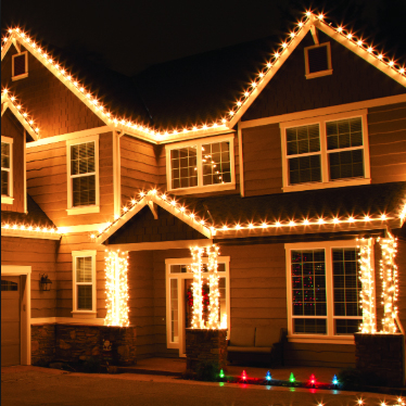 Profesionální vánoční osvětlení