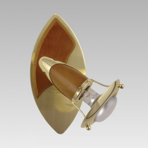 ZEUS 1xE14/R50/40W, BS/DW 332-V