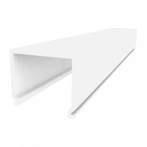 W30*H28*L3000mm  PLASTIC PROFILE,OPAL