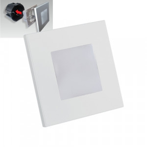 STEP LIGHT LED 1W,60lm,4000K, SILVER