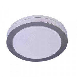 DOWNLIGHT LED/6W,IP44,4000K,CHROME/WHITE