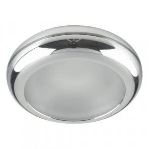 DOWNLIGHT GU10/50W,CHR/FROST GLASS,IP65 71042-V