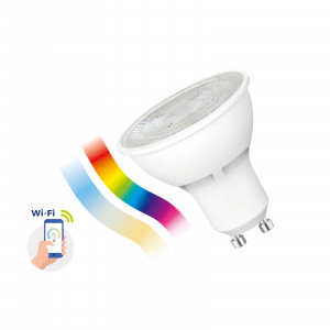 SMART LED bulb 5W GU10 Wi-Fi/Bluetooth RGBW CCT DIMM