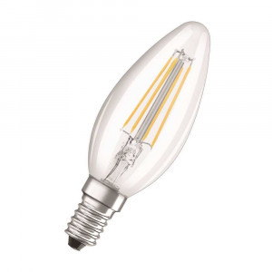 LED FILAMENT E14 4W TEPLÁ