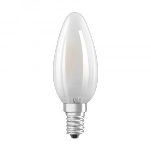 LED FILAMENT MATNÁ E14 2,8W TEPLÁ
