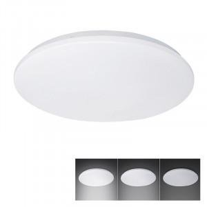 Solight LED stropné svietidlo, 3-stupňové stmievanie, 18W, 1260lm, 4000K, okrúhle, 33cm