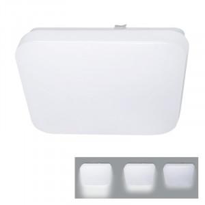 Solight LED stropné svietidlo, 3-stupňové stmievanie, 18W, 1260lm, 4000K, štvorcové, 33cm